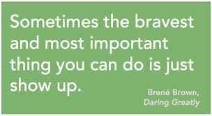 Show Up Brene Brown
