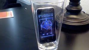 Phone in cup